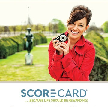 Scorecard Rewards - Earn points